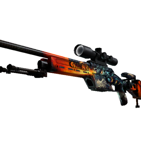 SSG 08 | Dragonfire (Minimal Wear)