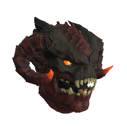 Red Infernal Demon Mask