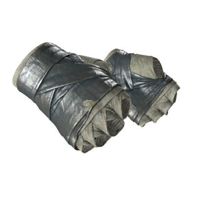 ★ Hand Wraps   Duct Tape (Minimal Wear)